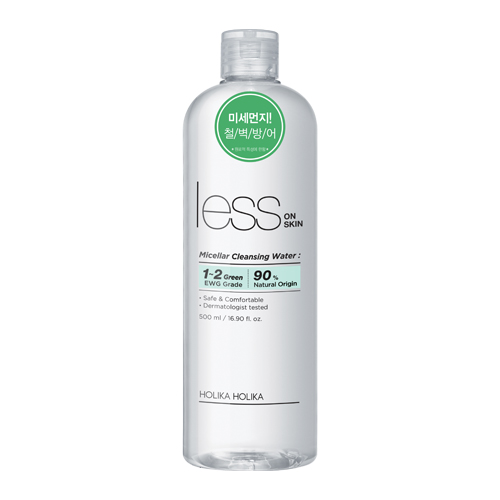 Holika Holika Less On Skin Micellar Water (500ml)