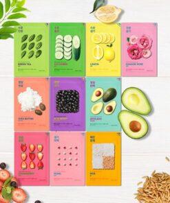Holika Holika Pure Essence Mask Sheet - Green Tea (5 Pcs)